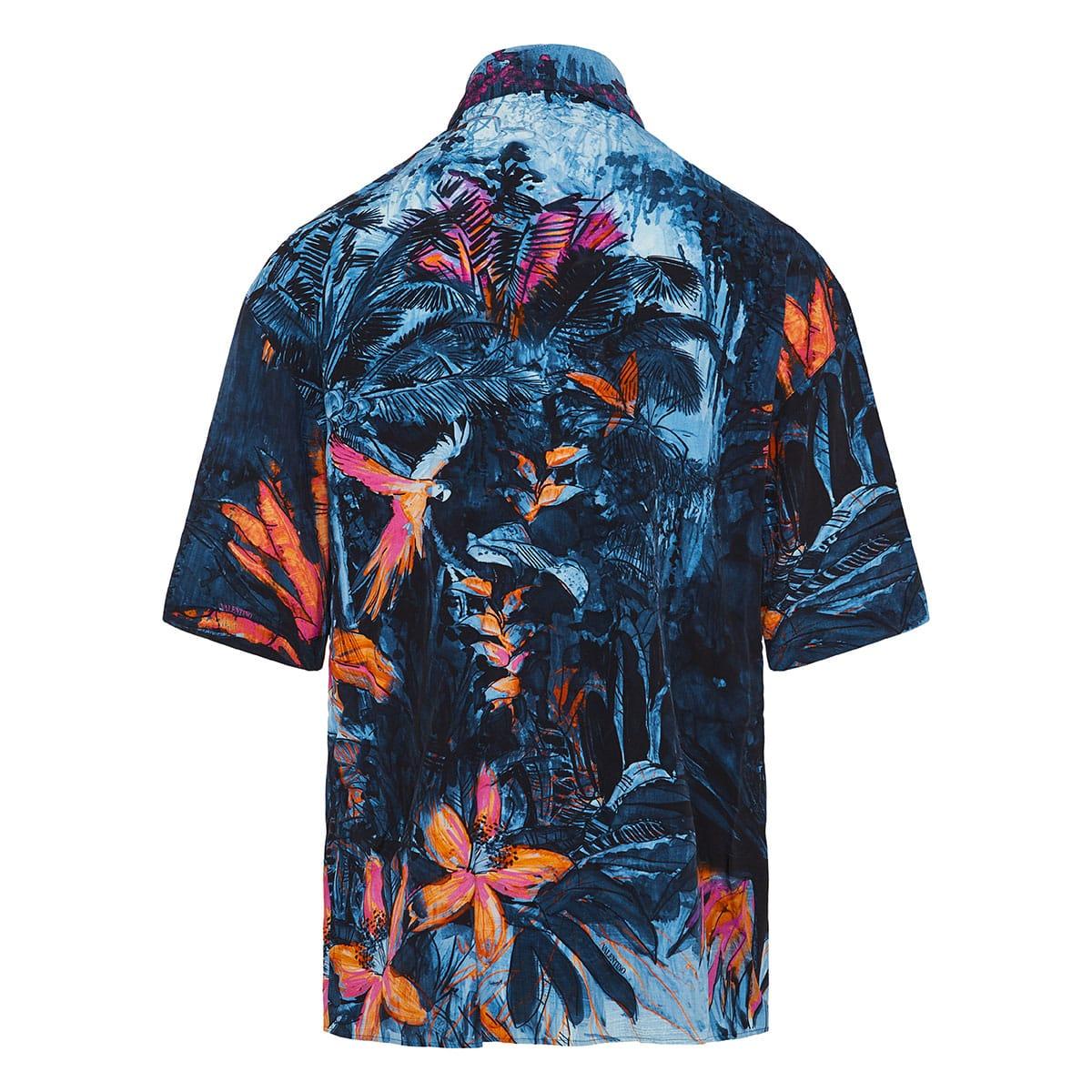 Oversized Mural Jungle shirt