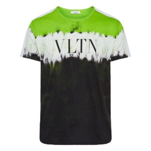 Jelly Block tie-dye logo t-shirt