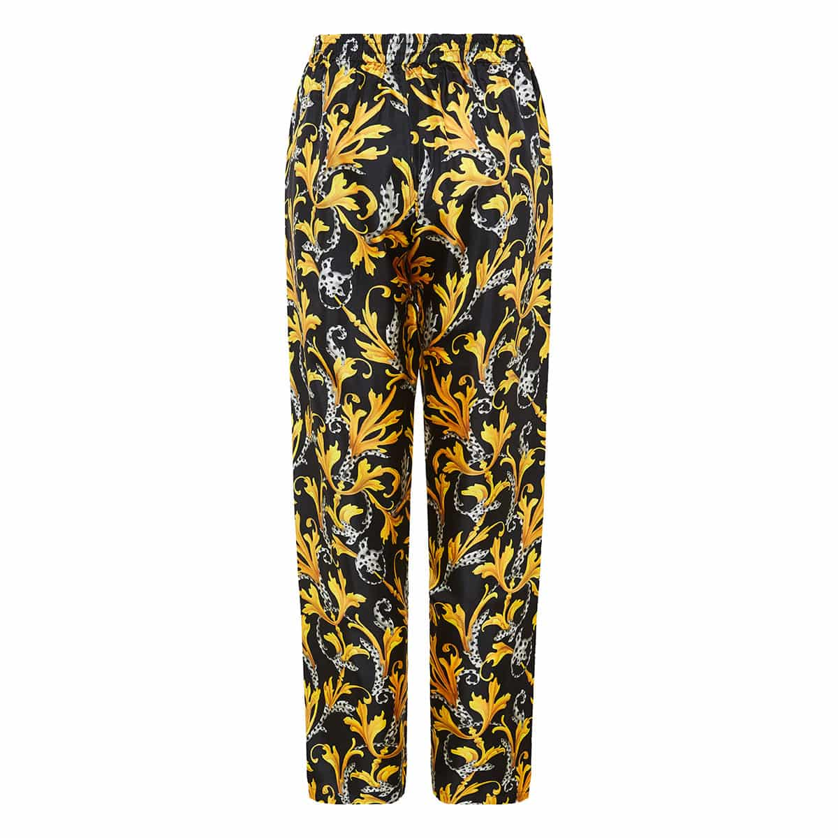 Baroque print pajama trousers