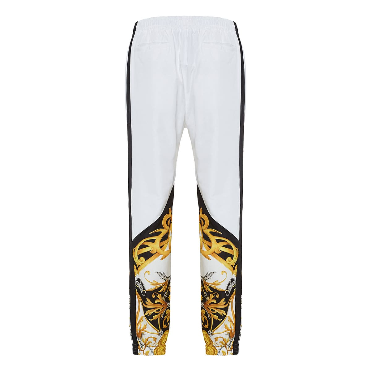 Baroque-print track trousers