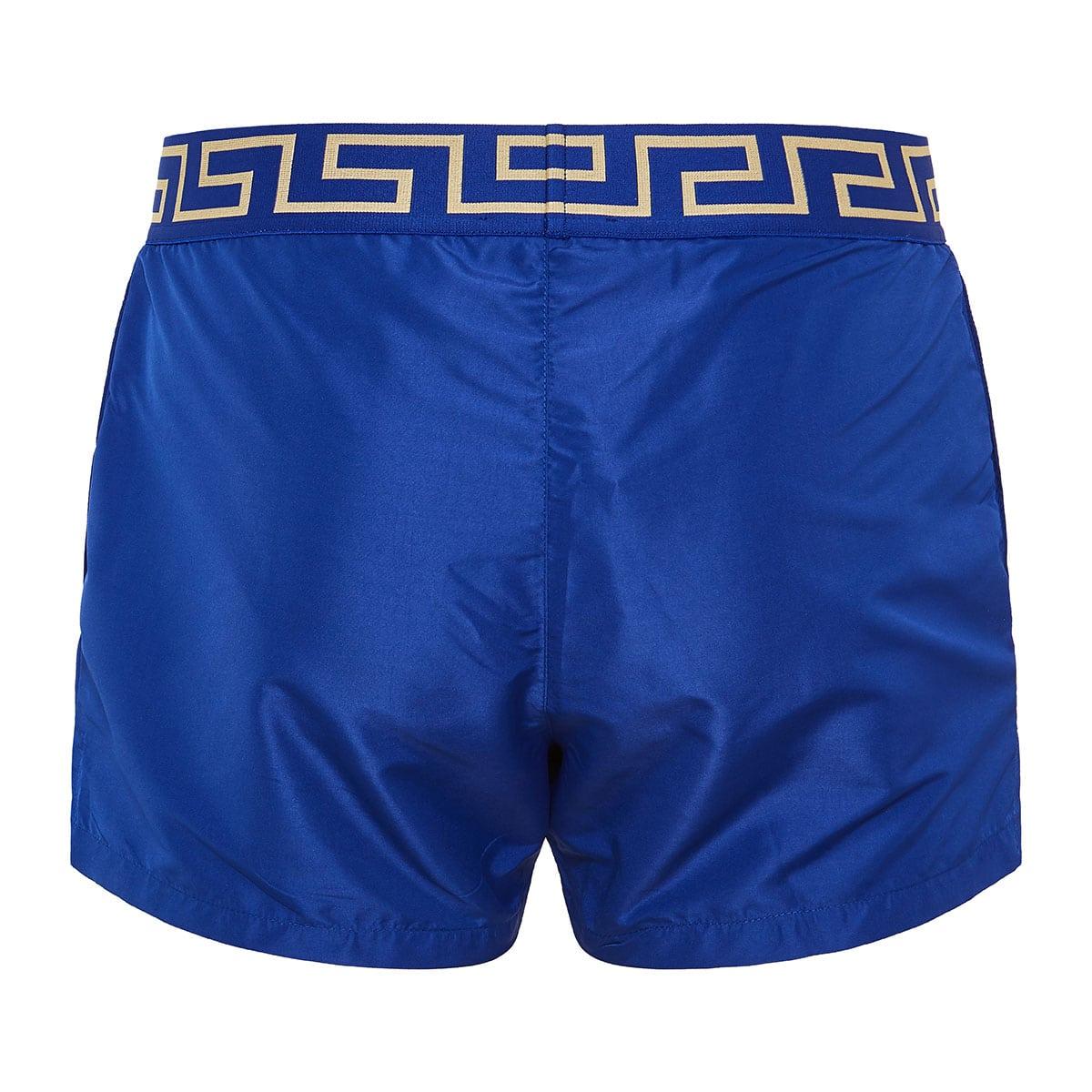Greca print swim shorts