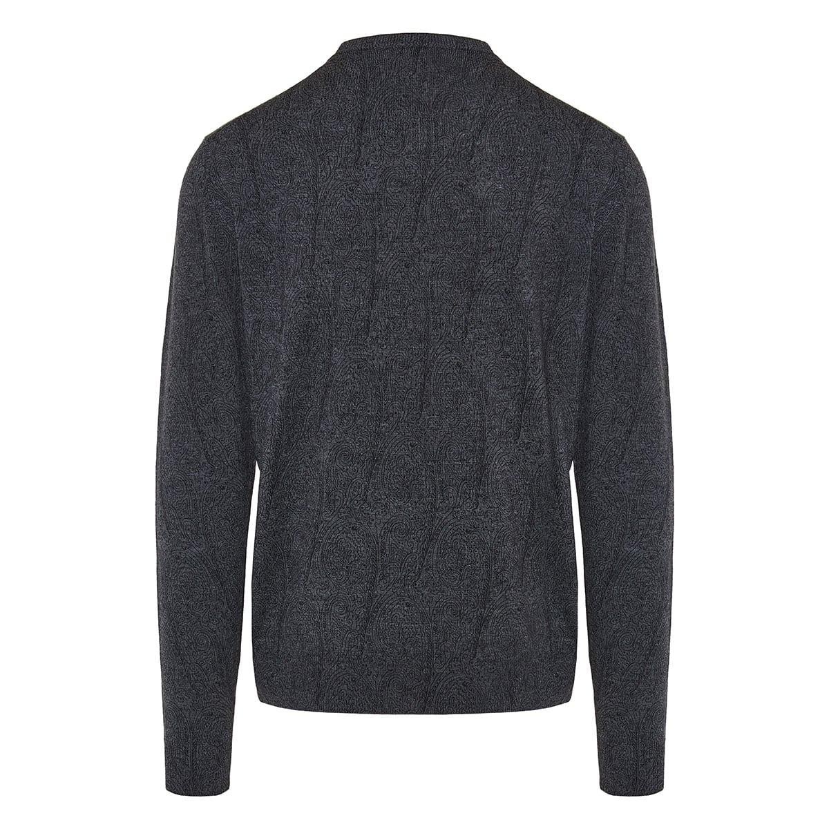 Paisley print sweater