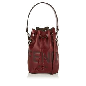 Mon Tresor mini logo bucket bag