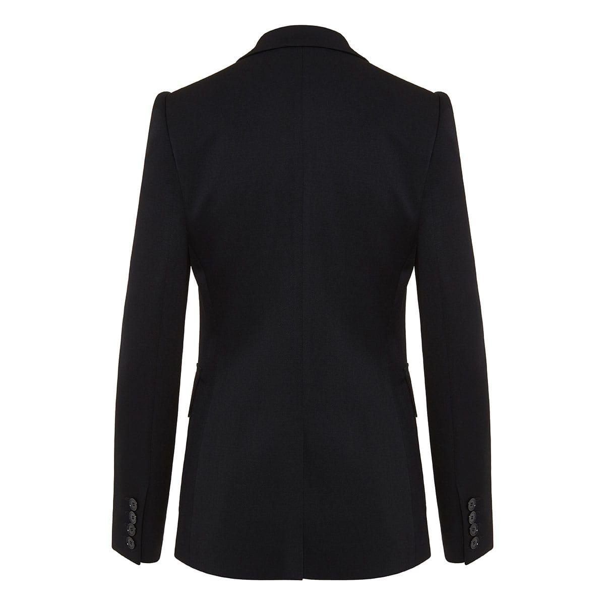 Iris single-breasted wool blazer