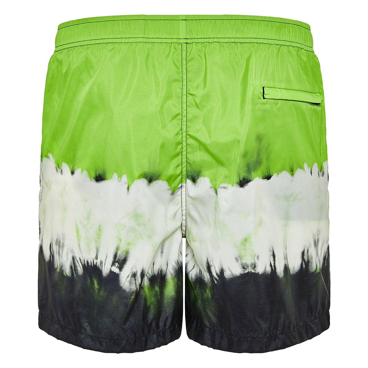 Jelly Block tie-dye swim shorts