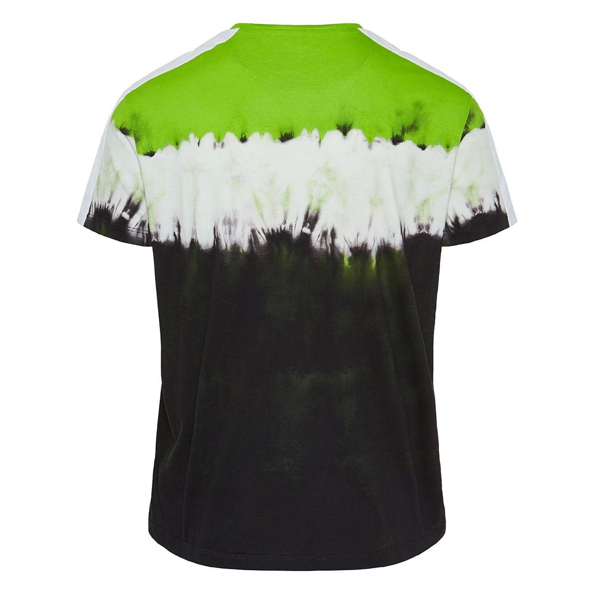 Jelly Block tie-dye logo t-shirt