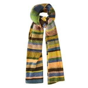 Super Soft long striped scarf