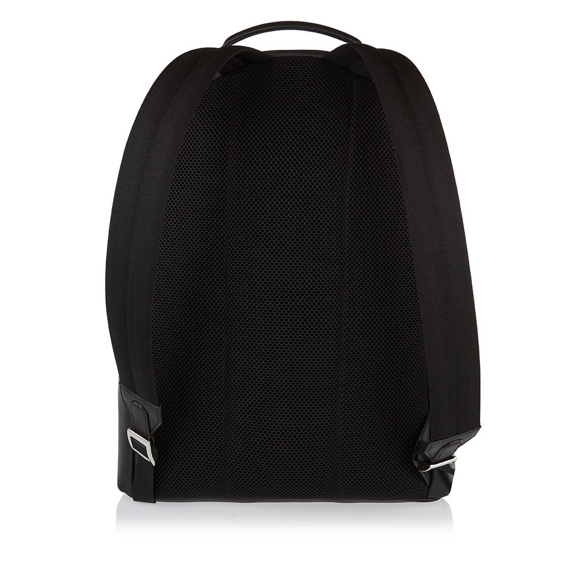 Peekaboo FF embossed leather backpack