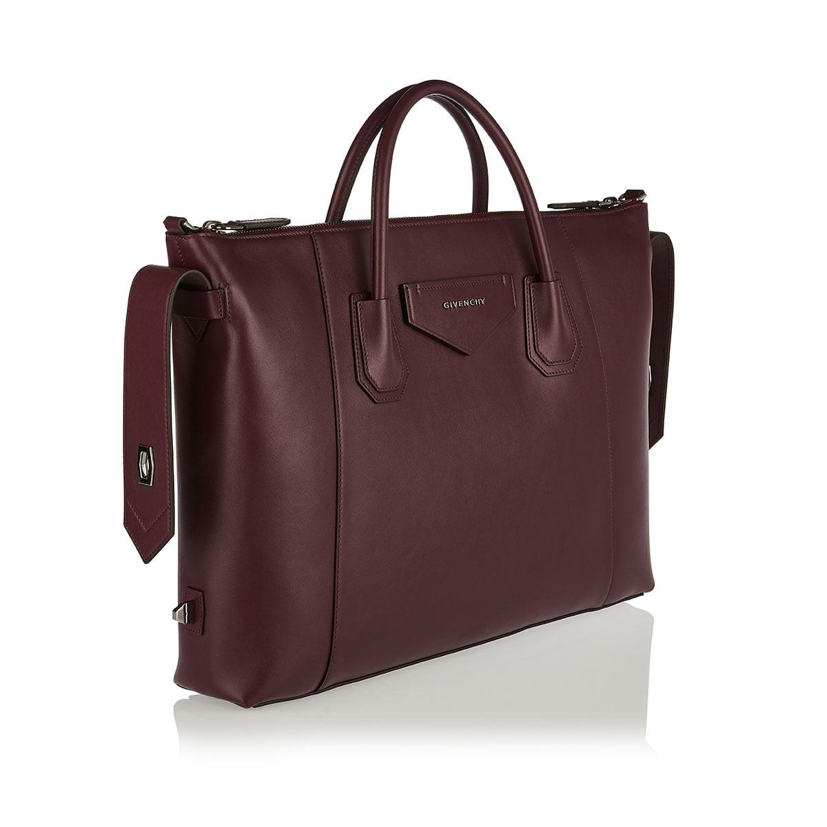 Antigona Soft medium leather tote