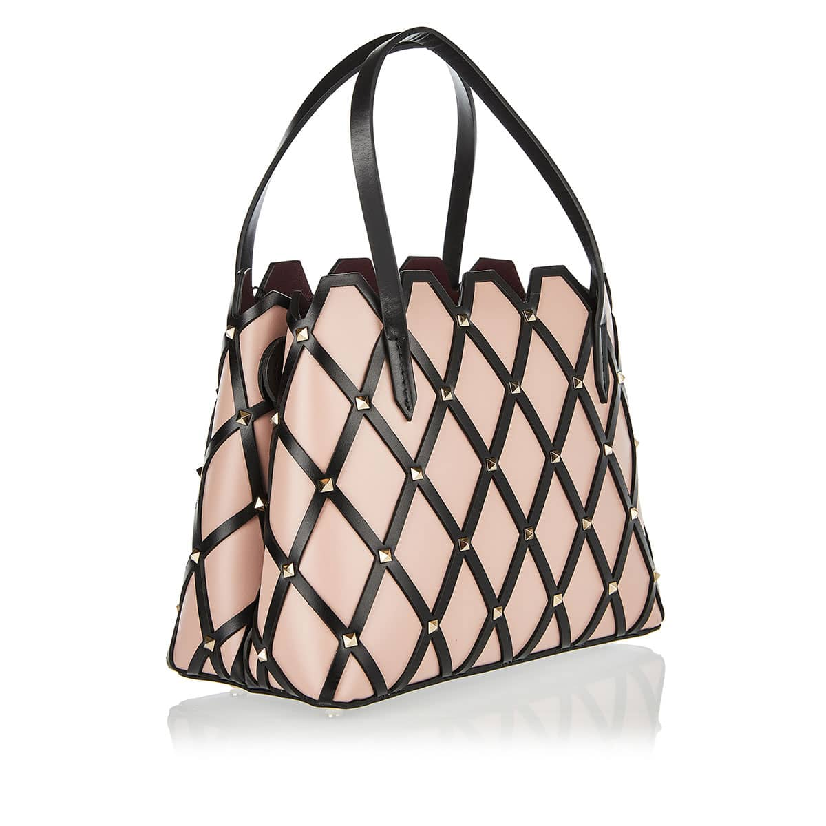 Beehive small studded tote