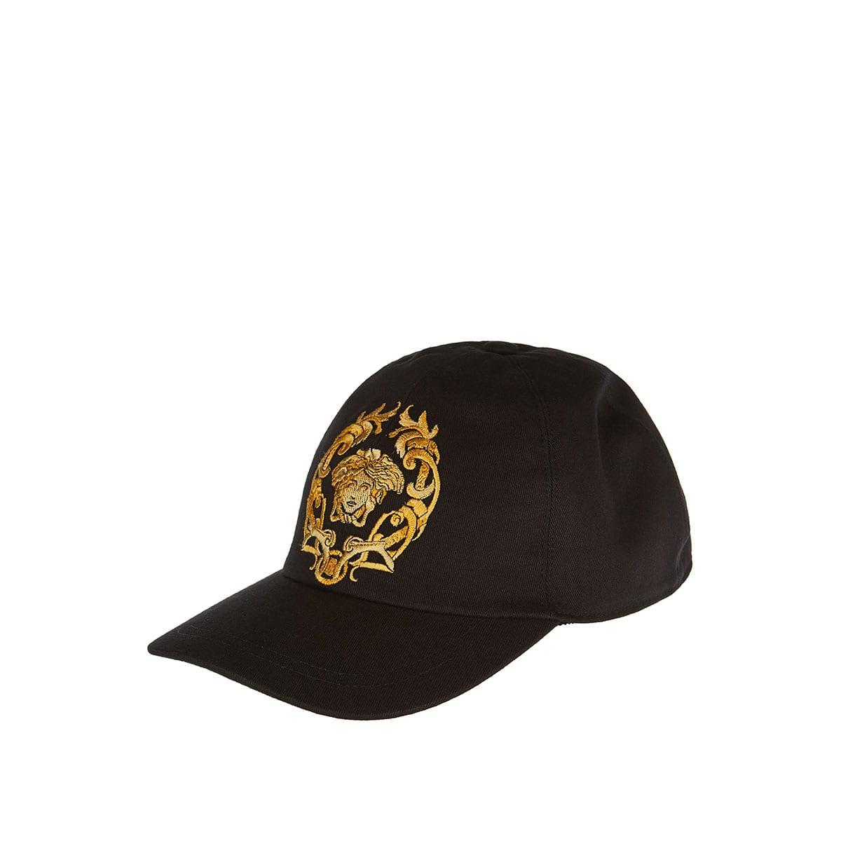 Medusa embroidered cap