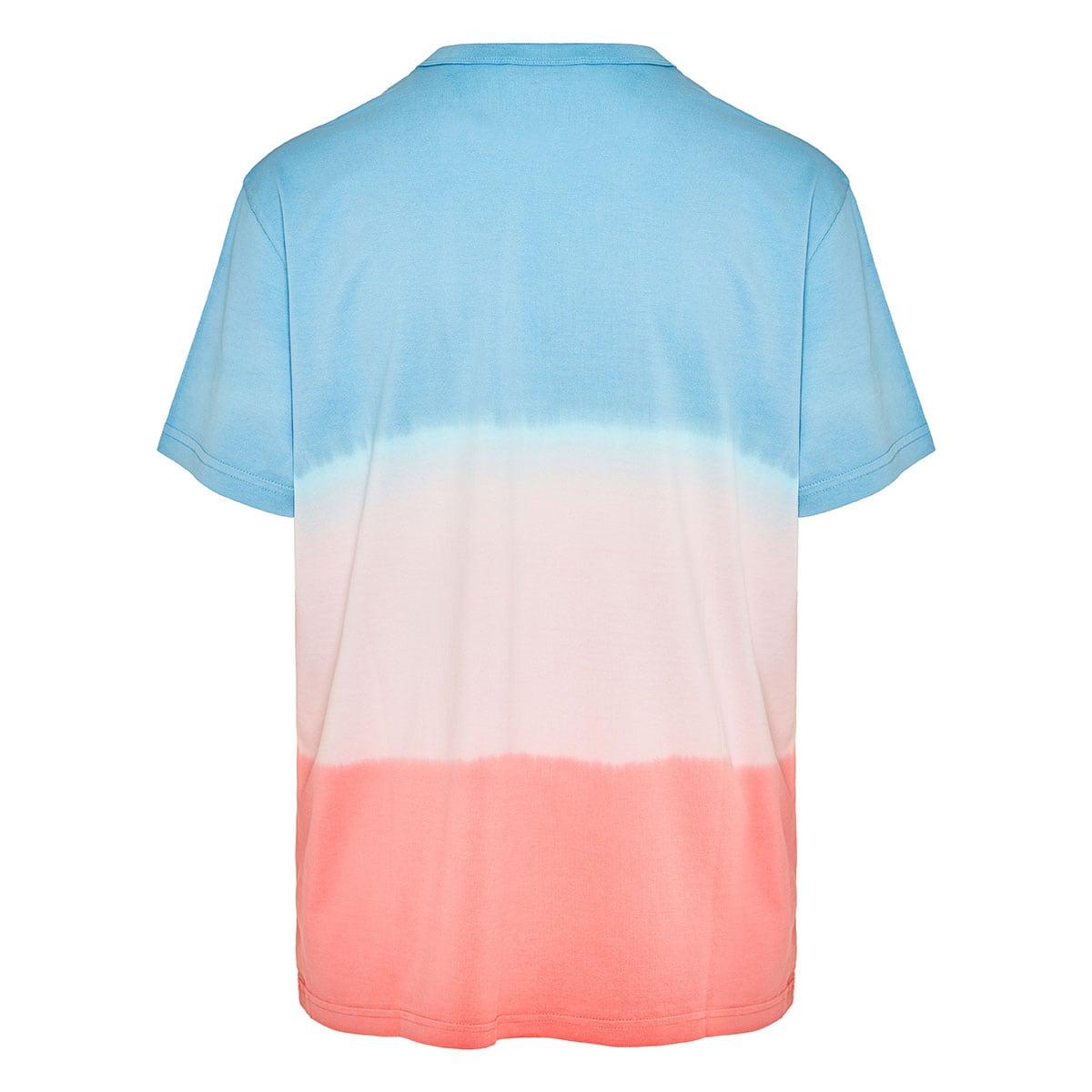 Oversized tie-dyo logo t-shirt