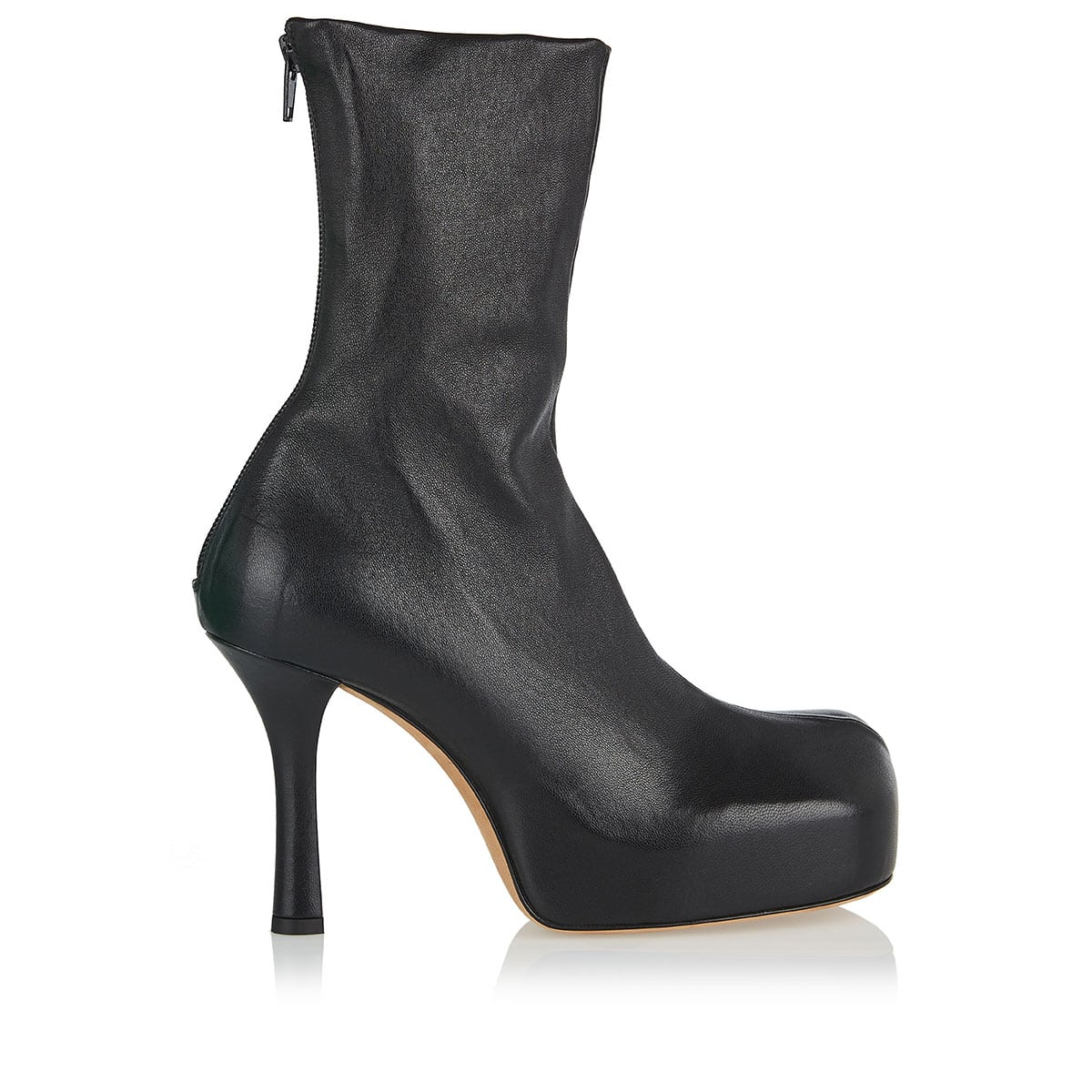 BV Bold leather booties