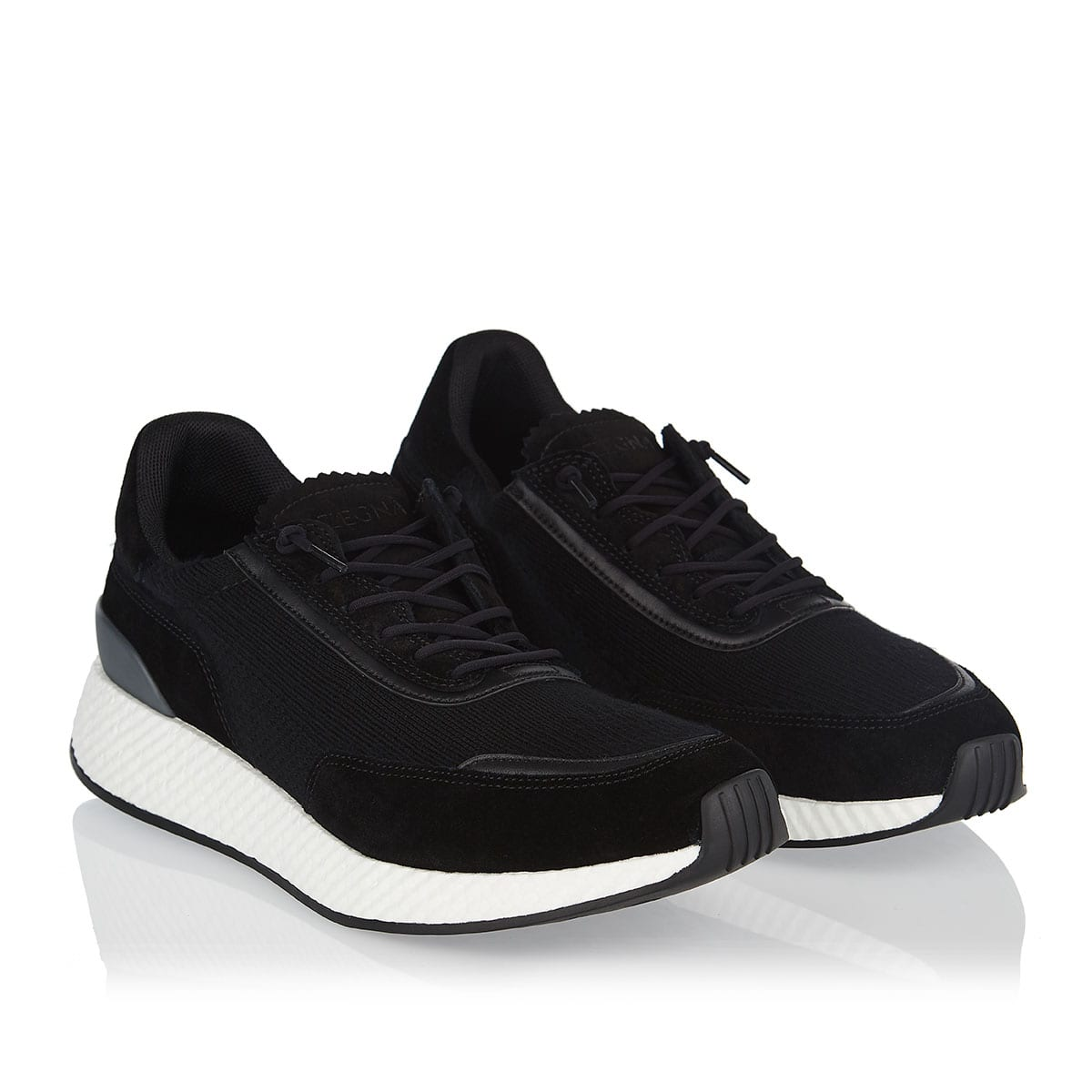 Piuma suede and wool sneakers