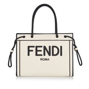 Fendi Roma medium canvas tote
