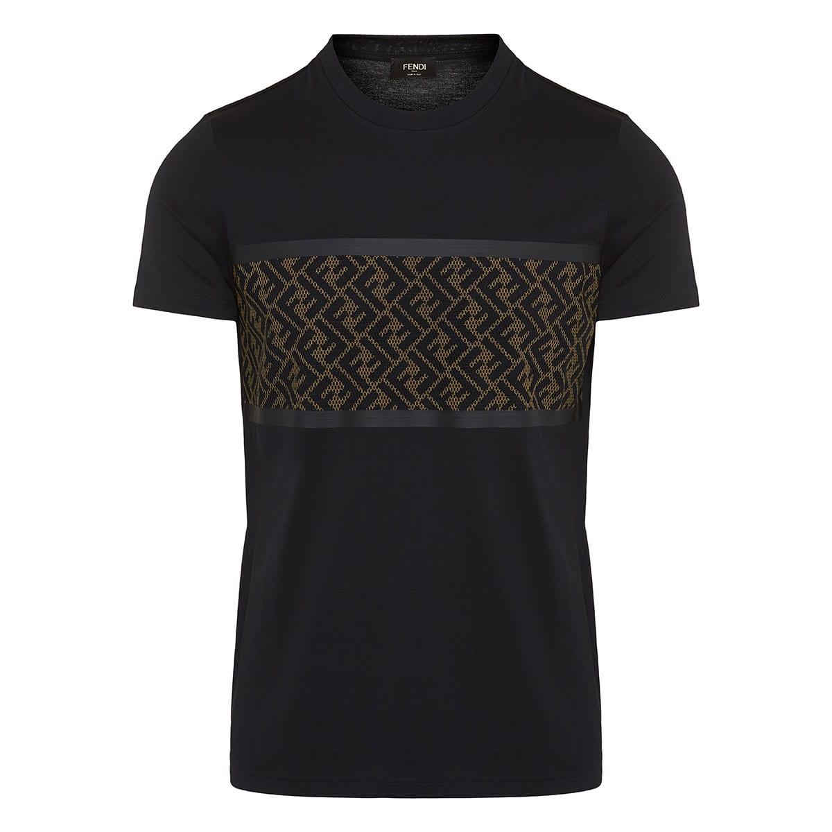 FF mesh-paneled t-shirt
