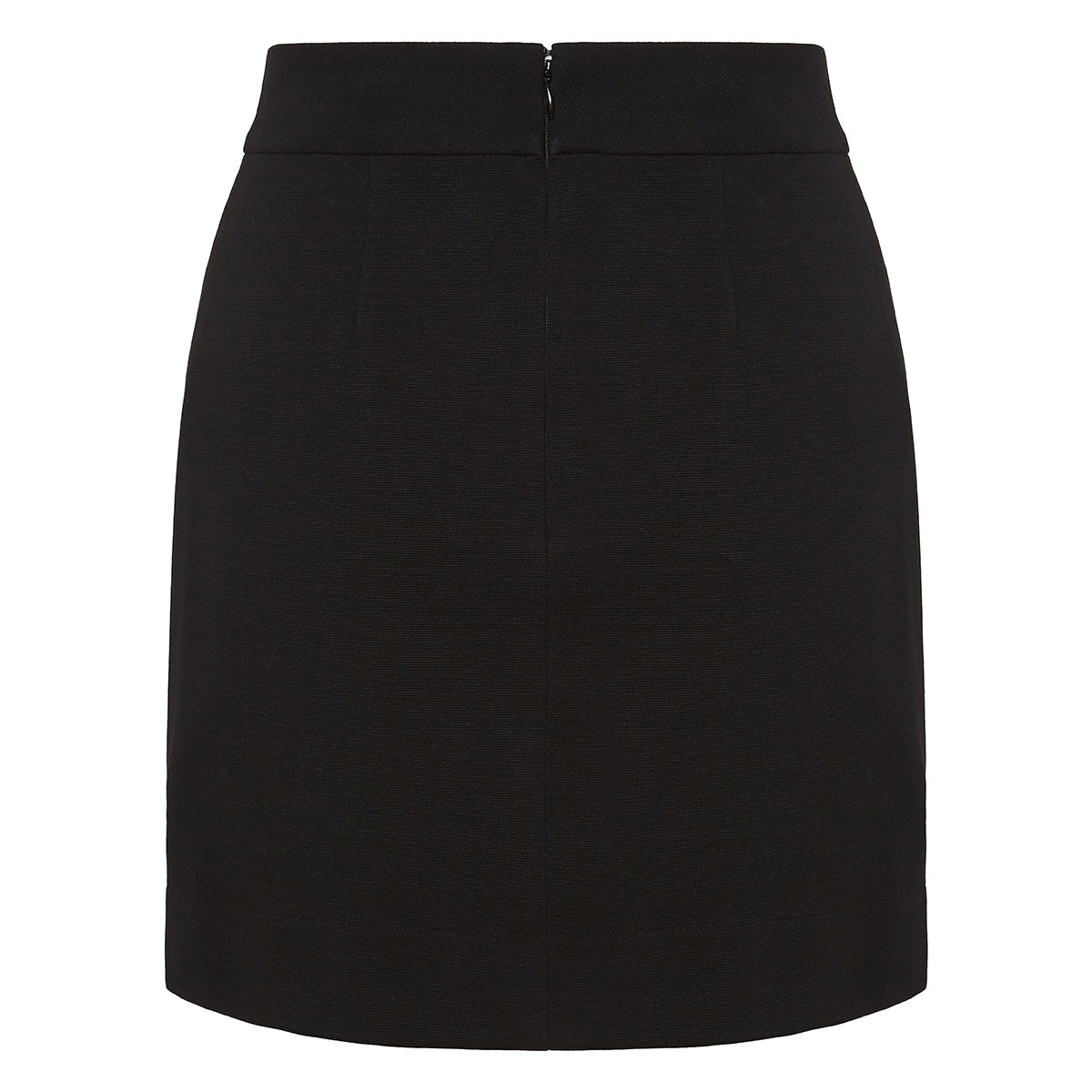 Mini skirt with 4G buttons
