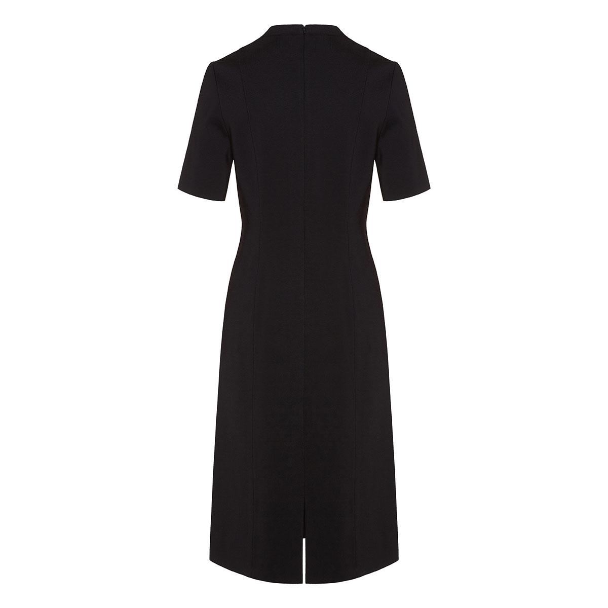 Chain-embellished midi dress