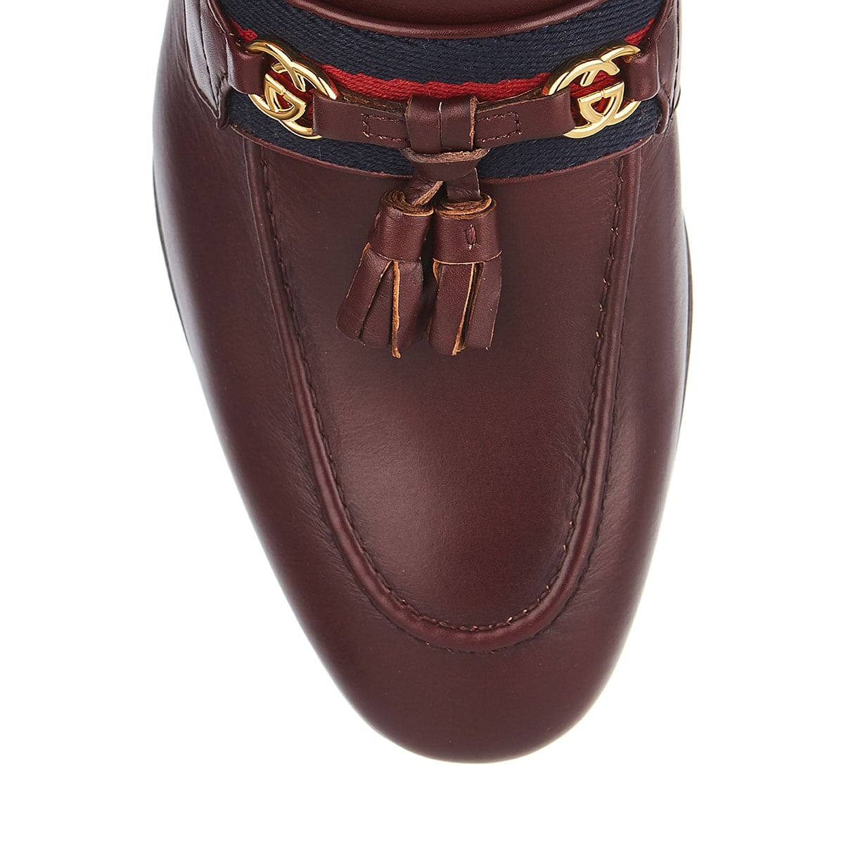 GG tasselled leather loafers