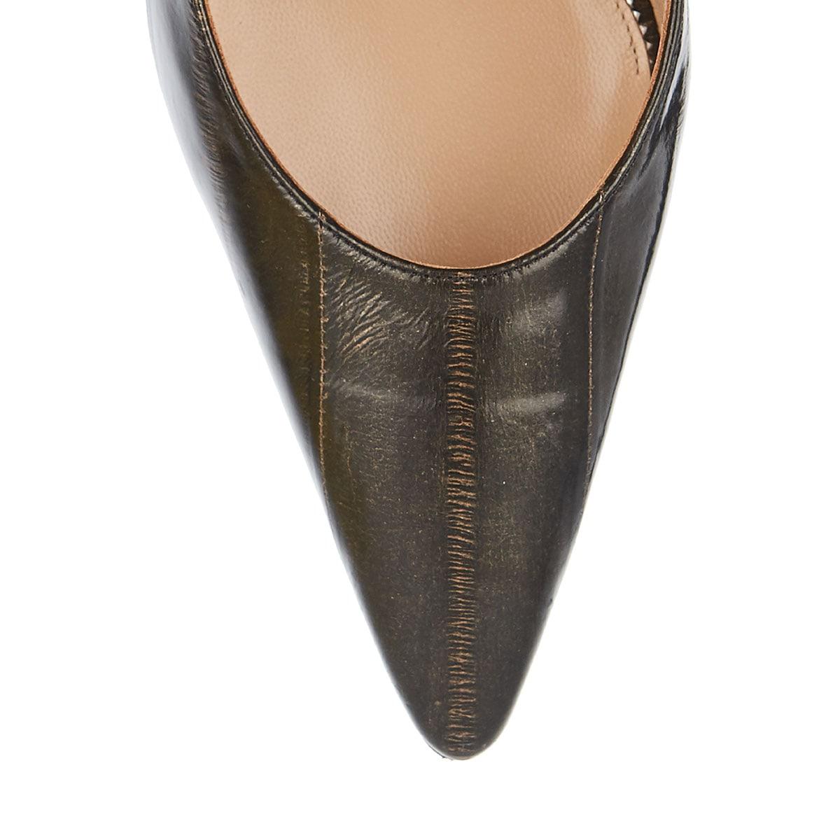 Daniela embellished leather mules