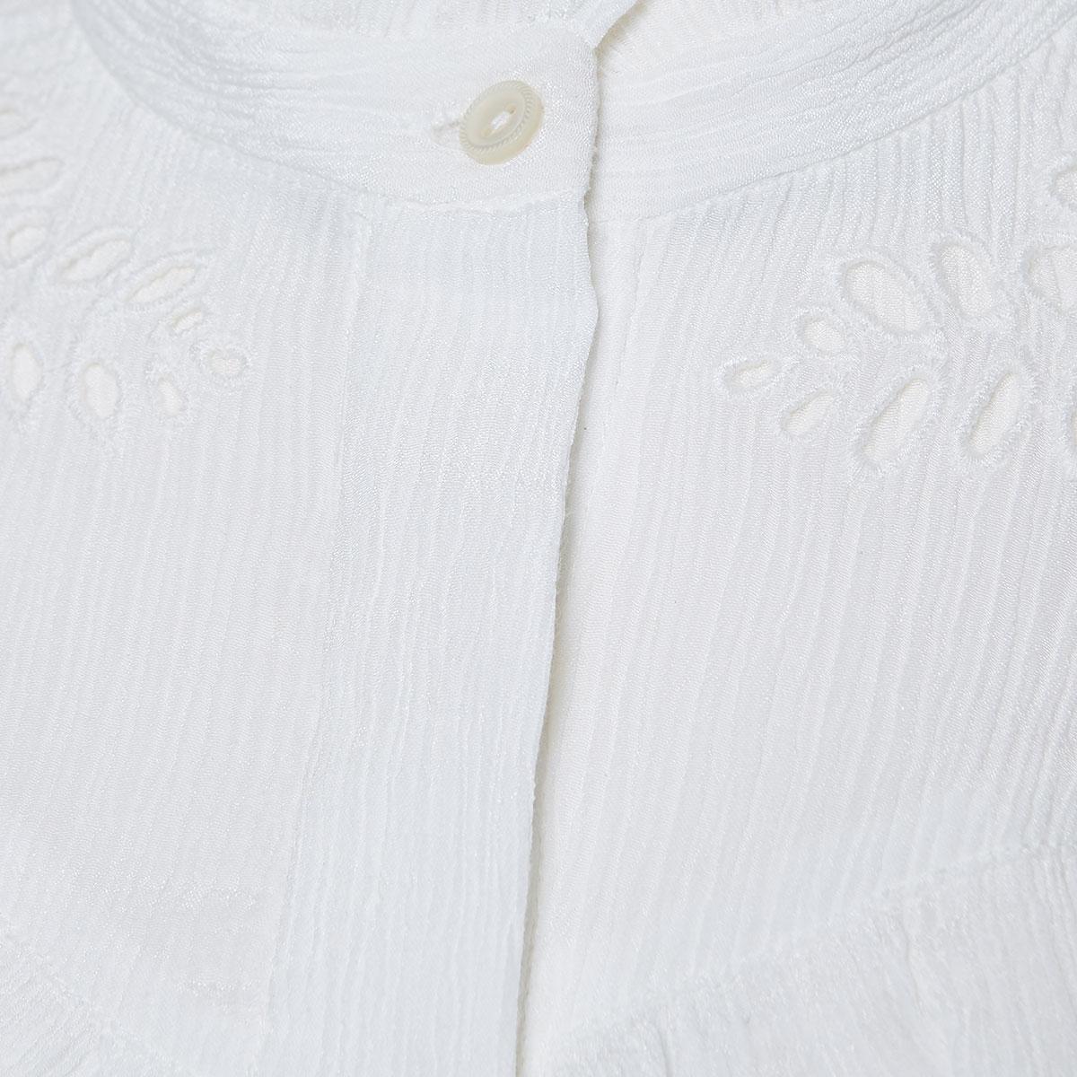 Izae ruffled crinkled shirt