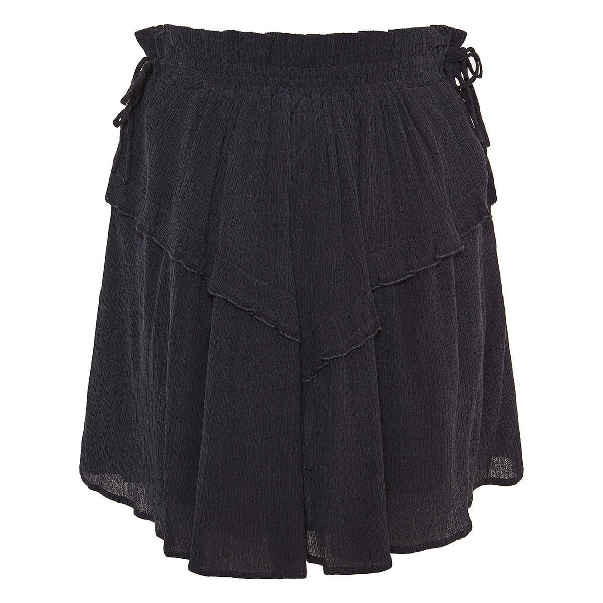 Itelo frilled mini skirt