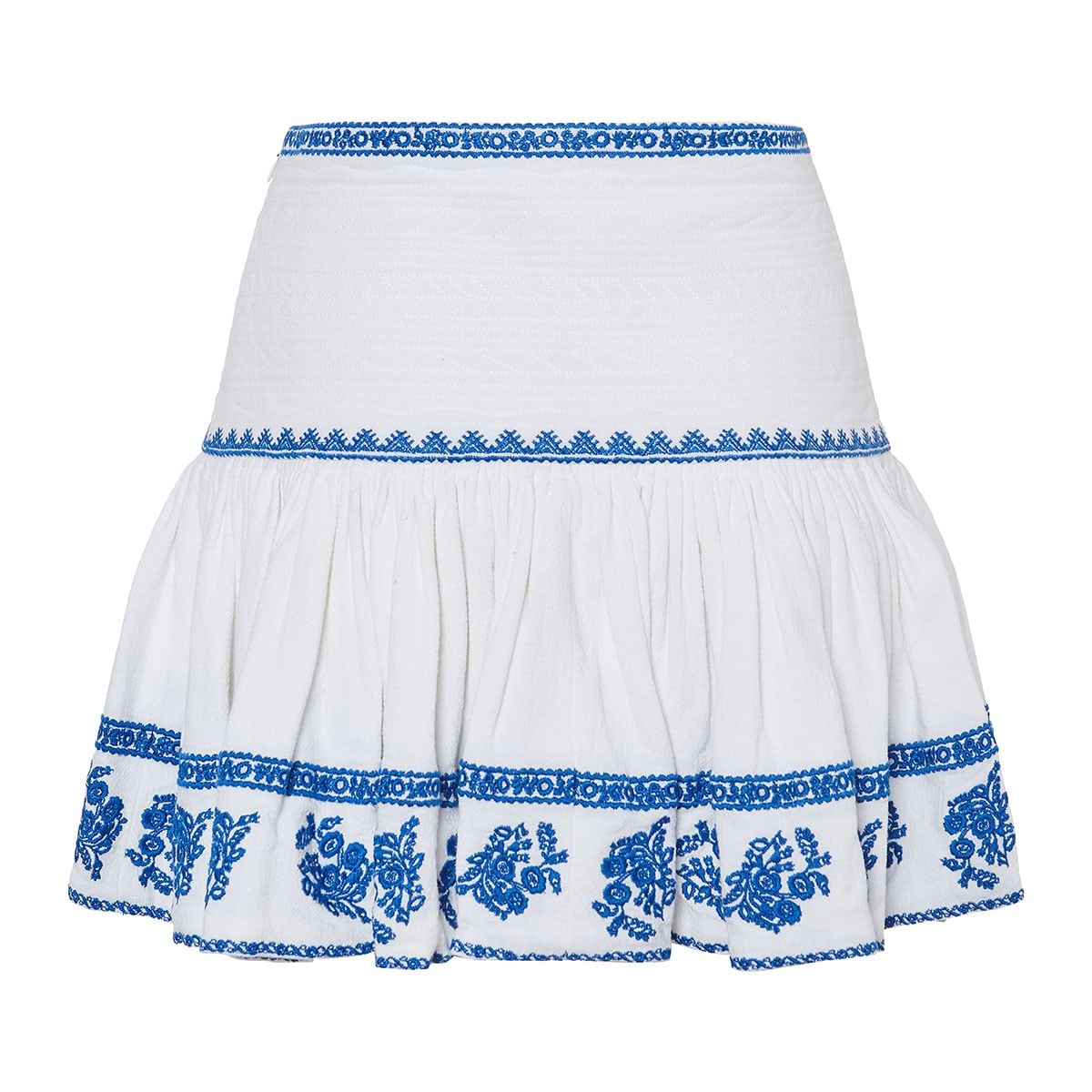 Russel embroidered mini skirt