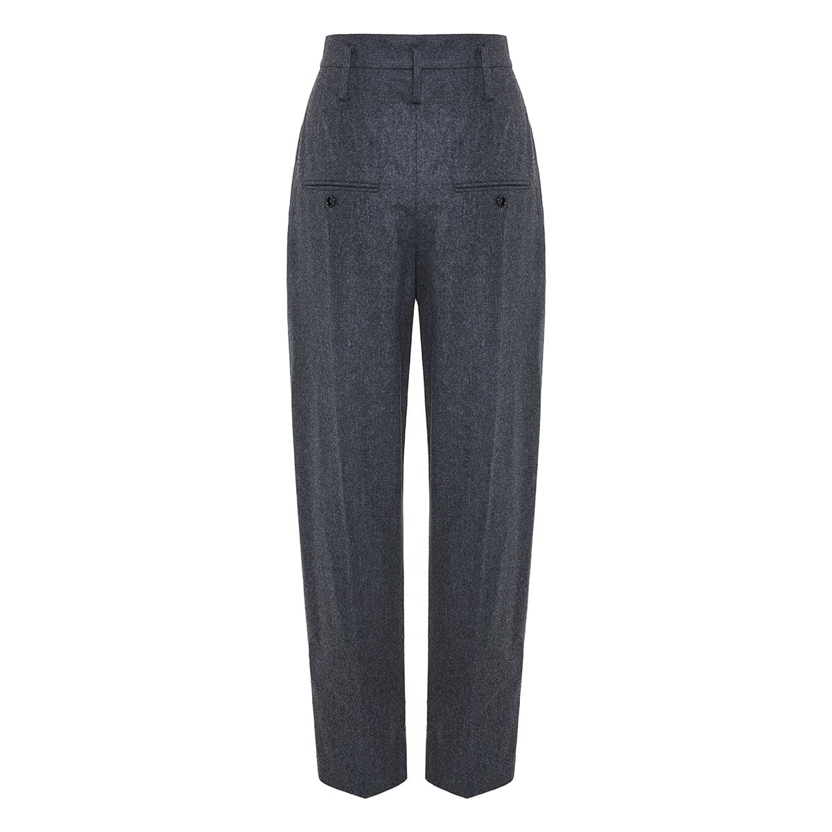 Racomisl high-waist tapered trousers