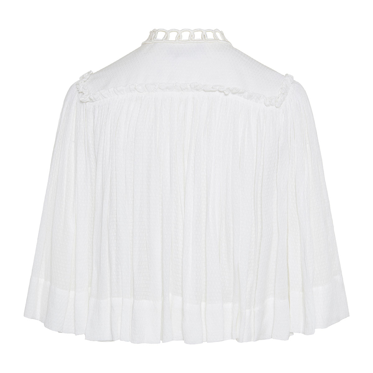 Dahlia gathered blouse