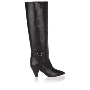 Learl knee-high leather boots