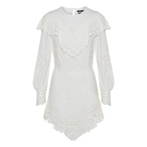 Ellery lace-detailed mini dress