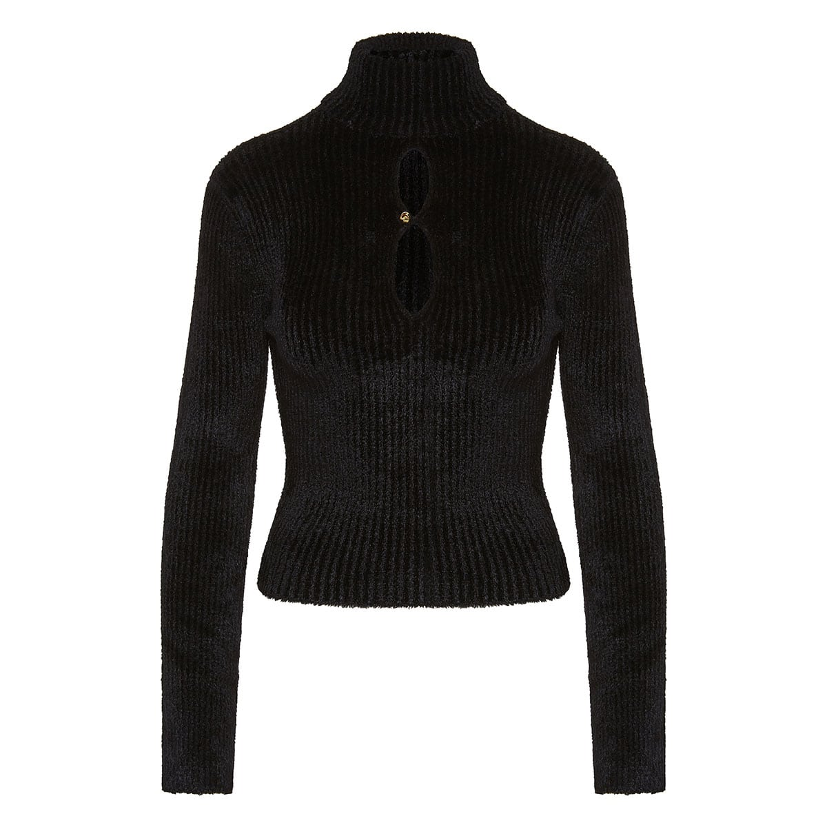2 Moncler 1952 turtleneck chenille sweater