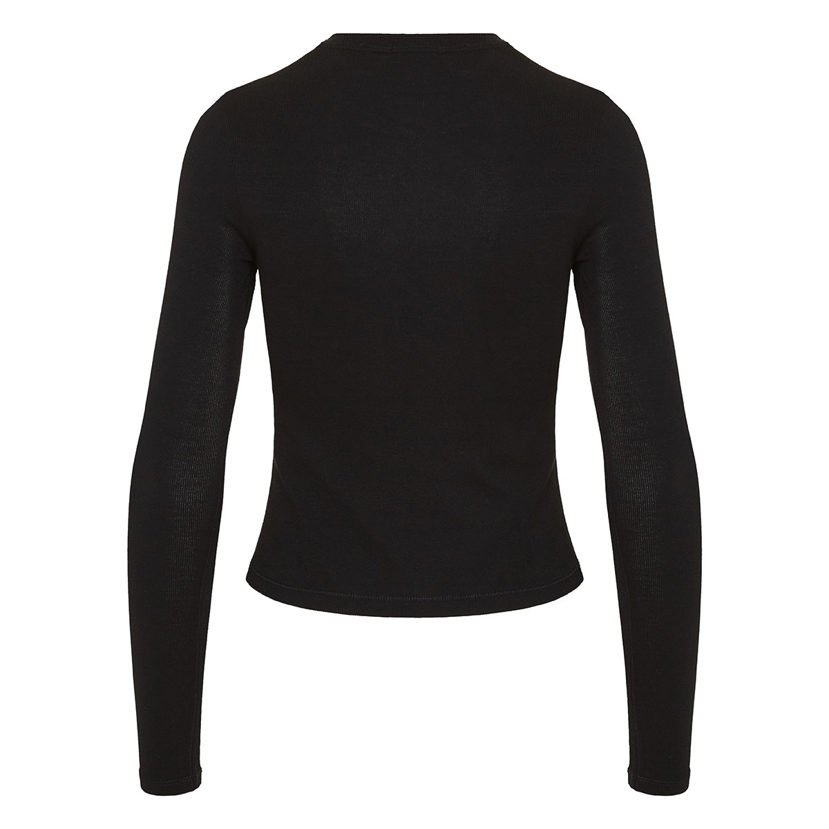 The Rib cropped blouse