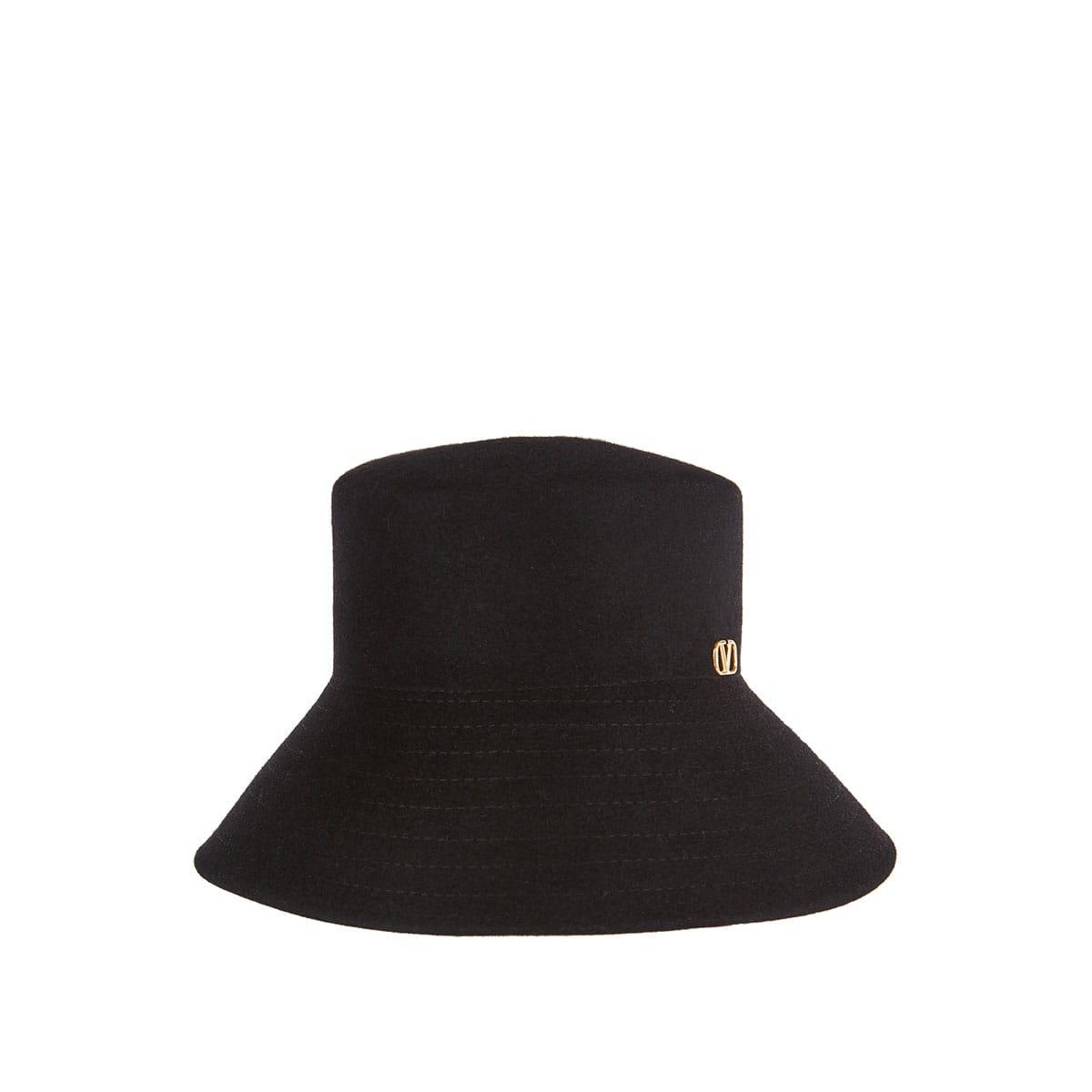 Vlogo felt bucket hat