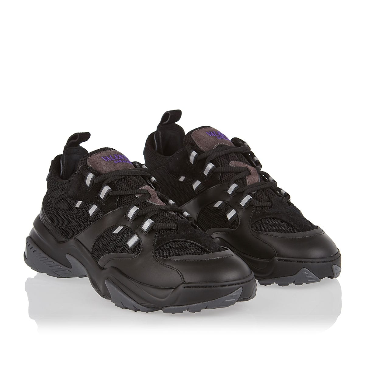 Afterdusk technical mesh sneakers