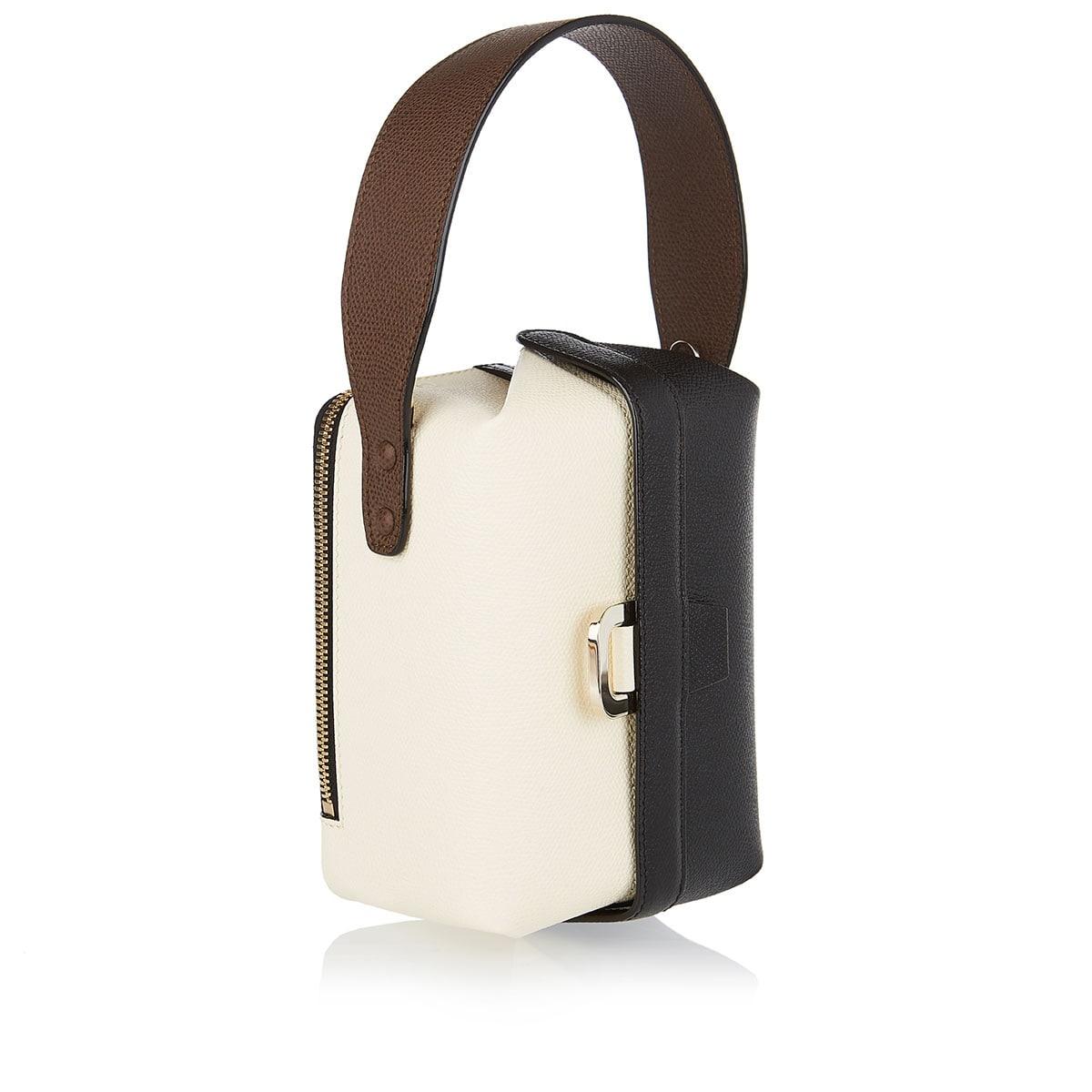 Tric Trac two-tone bucket bag