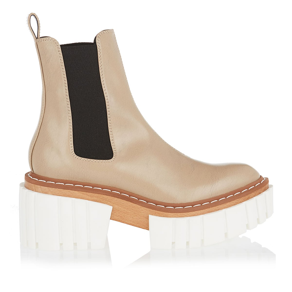 Emilie chunky ankle boots