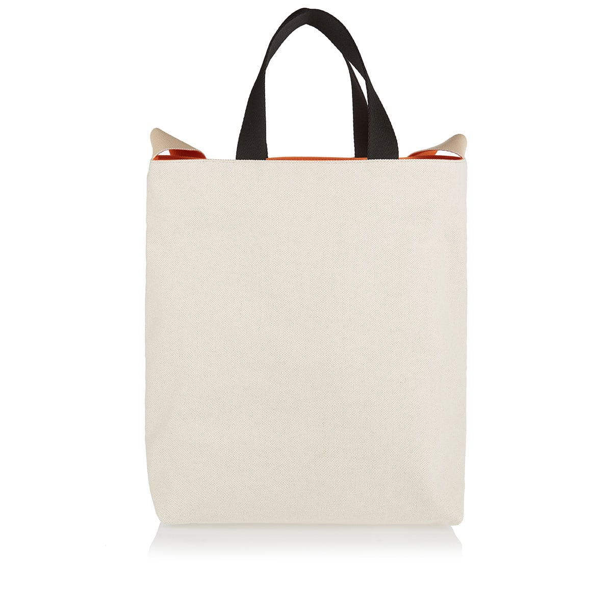 Logo-patch canvas tote