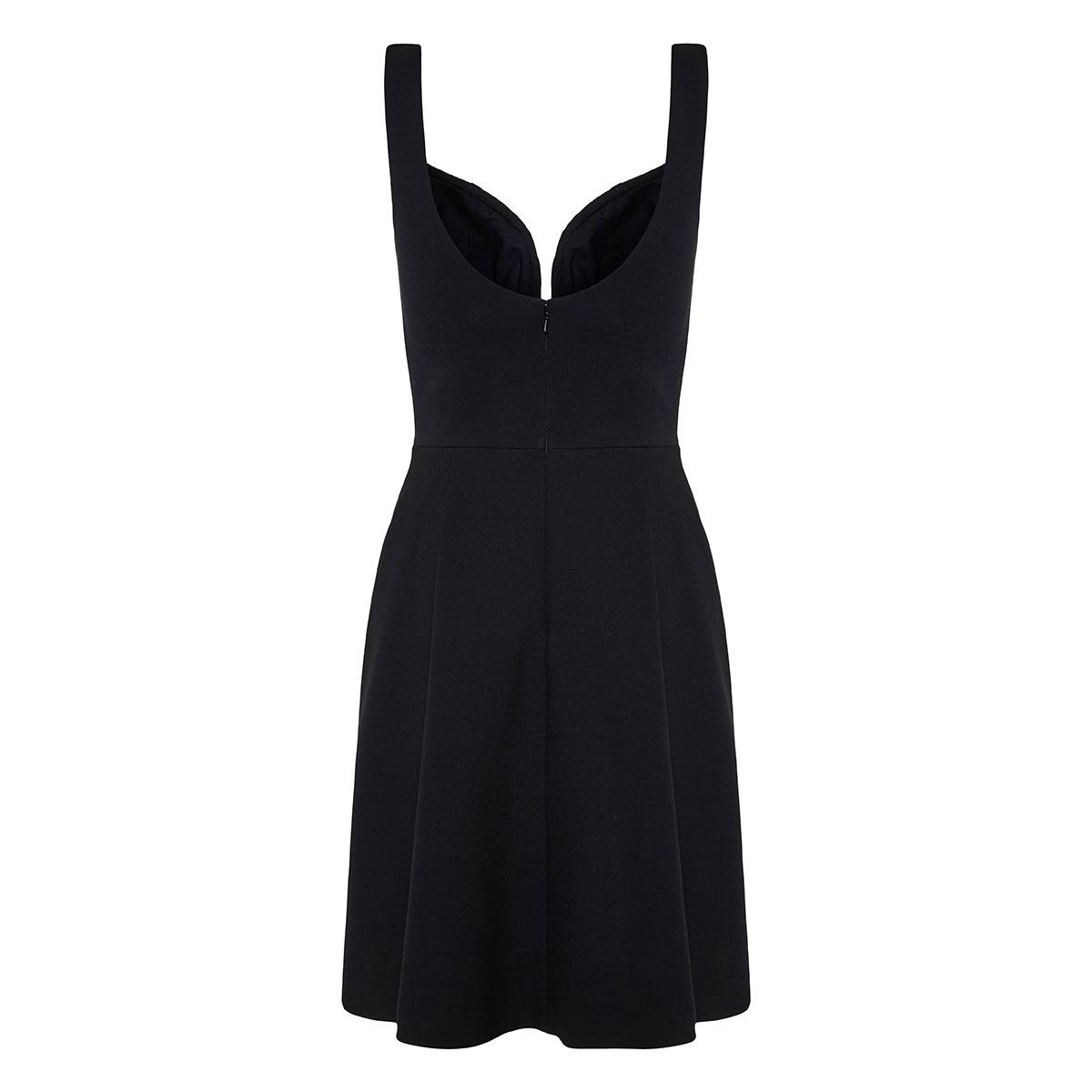Asymmetric corset dress