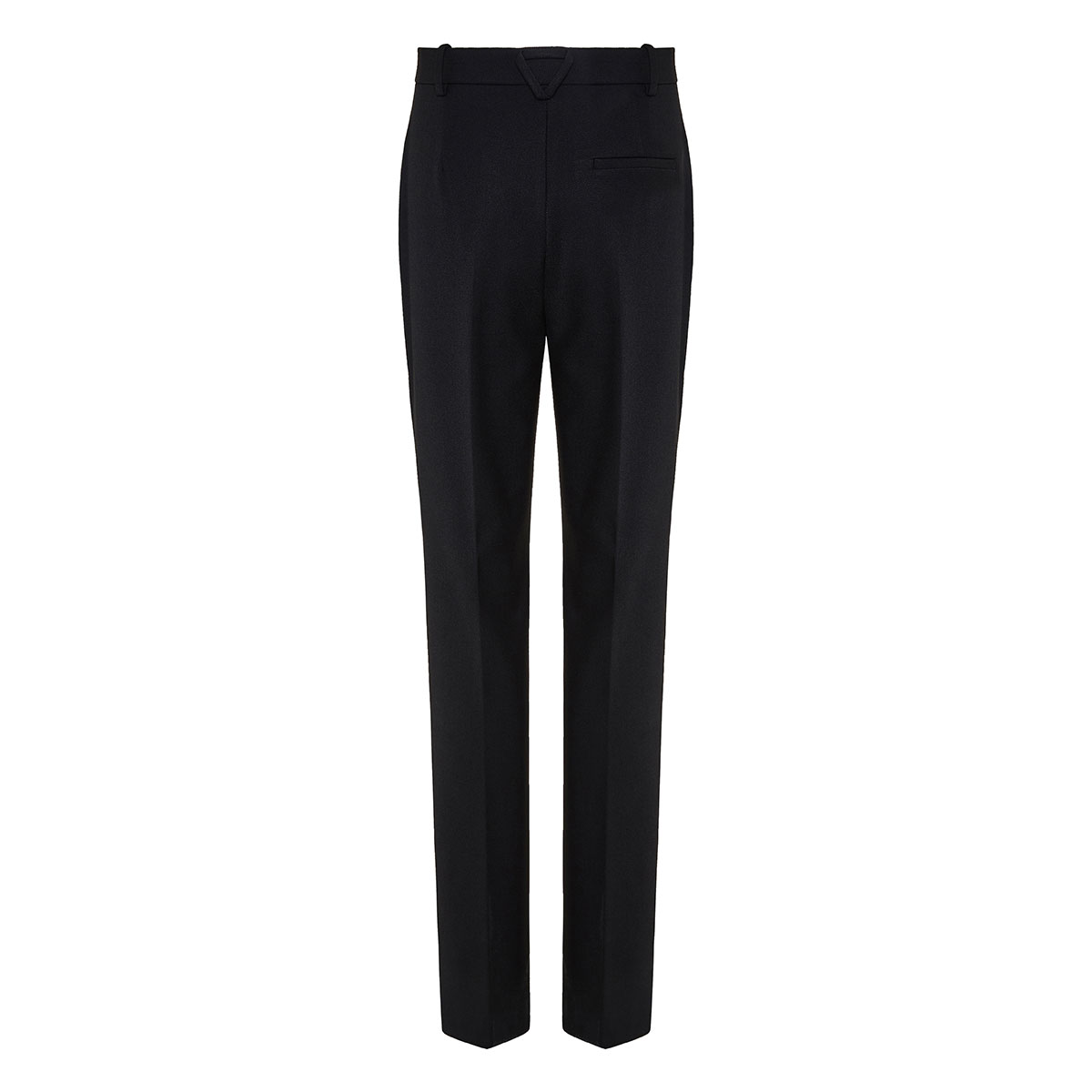 Twill tailored trousers
