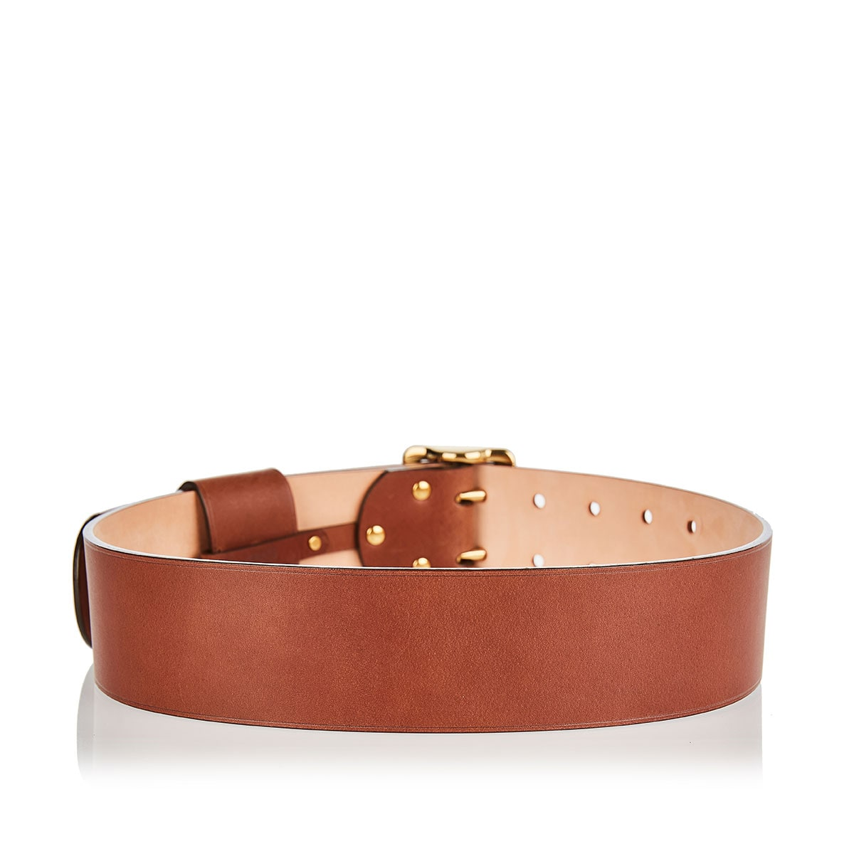 Franckie wide leather belt