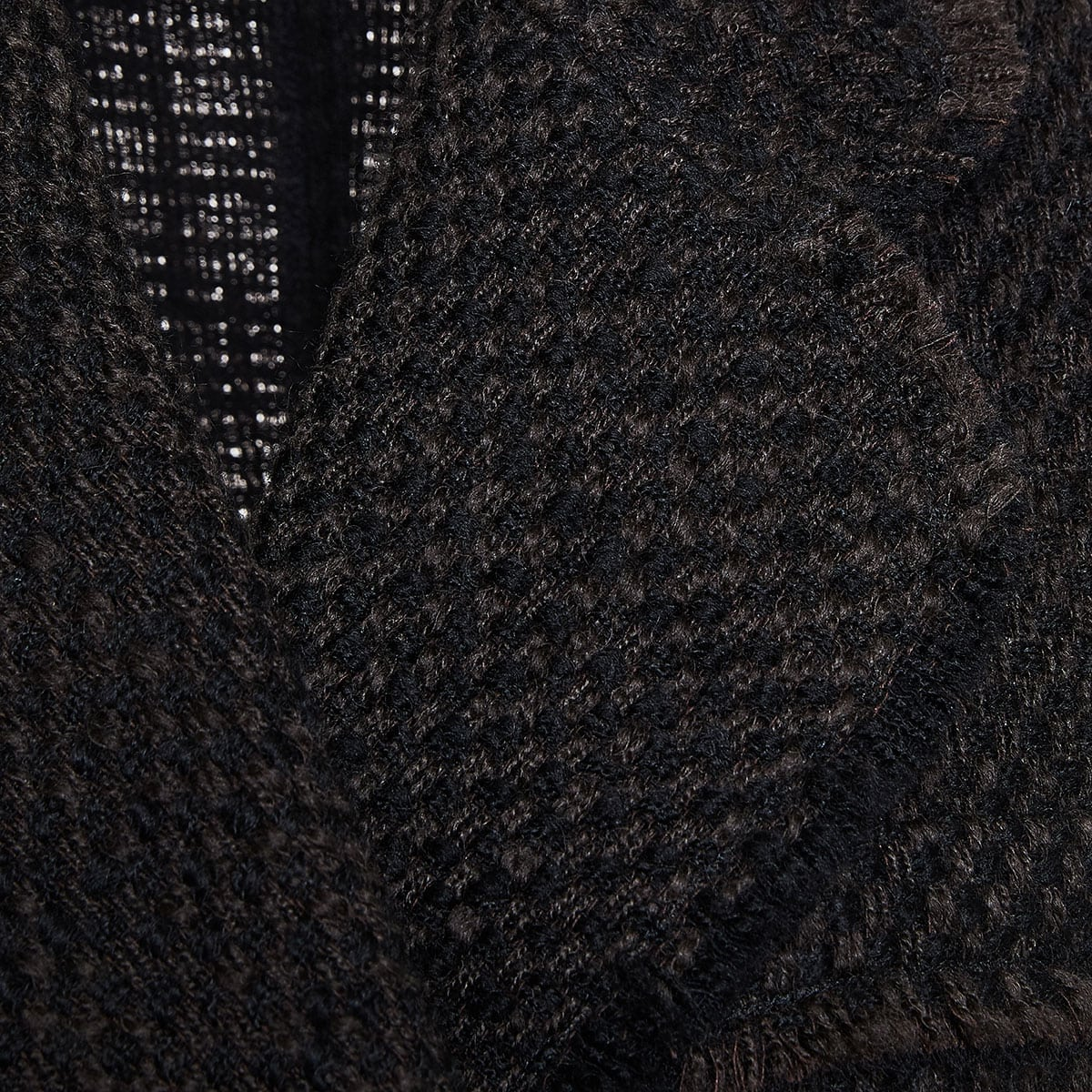 Double-breasted tweed blazer dress