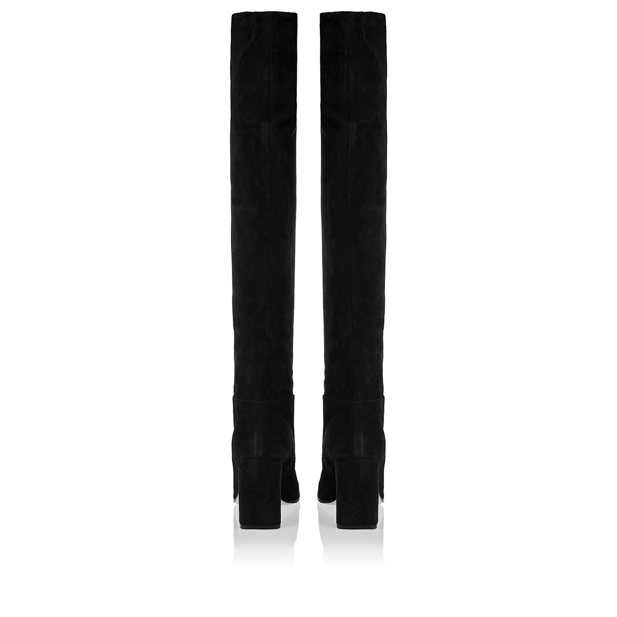 Hynde 85 knee-high suede boots
