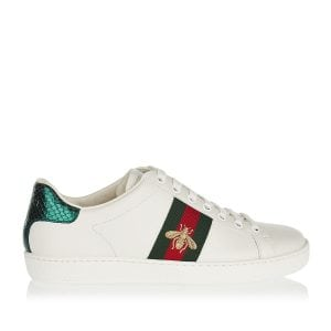 Ace bee-embroidered sneakers