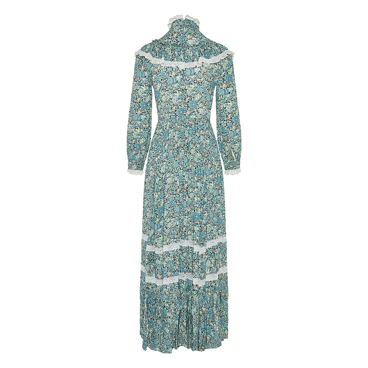 Liberty London long floral dress