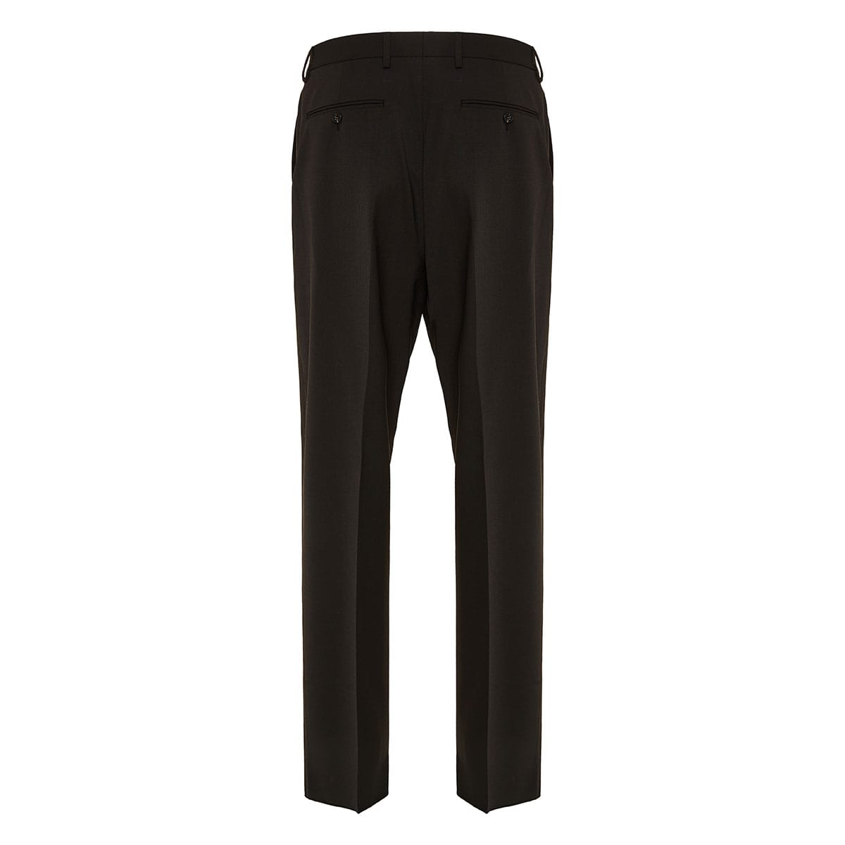 Tailored trousers with waist tie