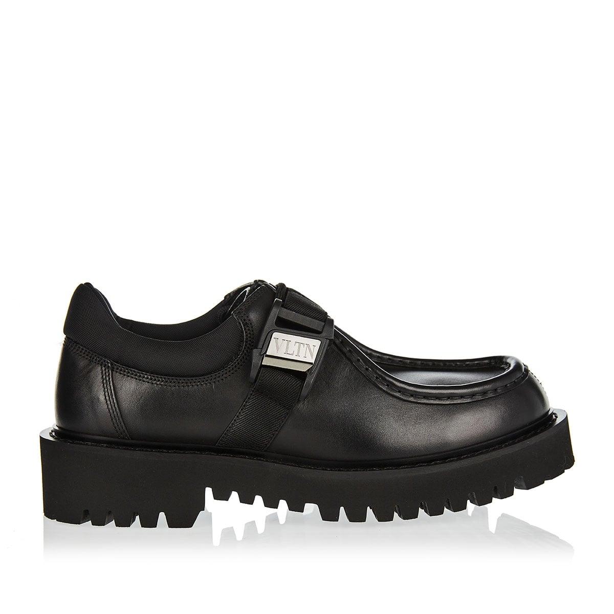 VLTN leather derby shoes