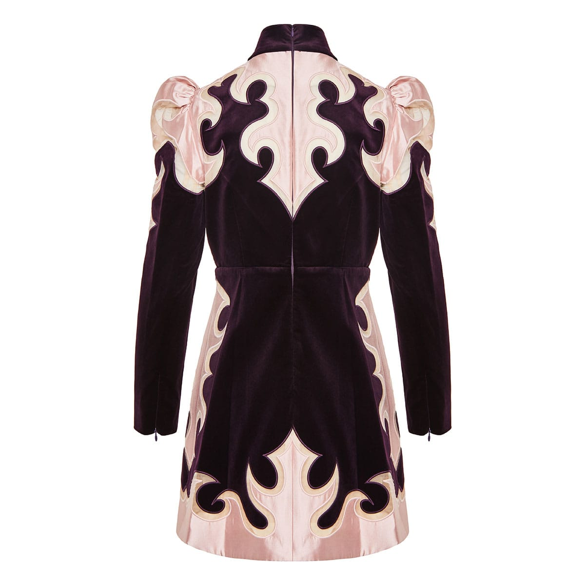 Ladybeetle Mystic velvet mini dress