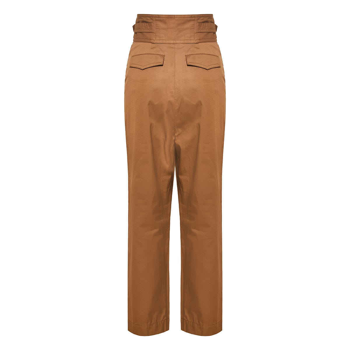 Ladybeetle high-waist cropped trousers