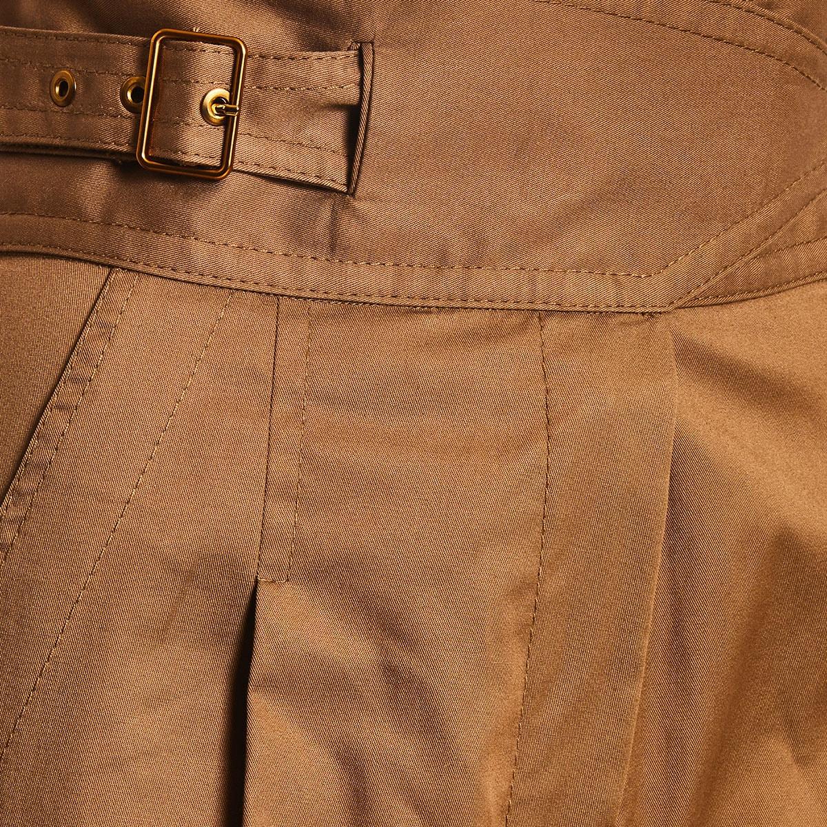 Ladybeetle high-waist cropped trousers